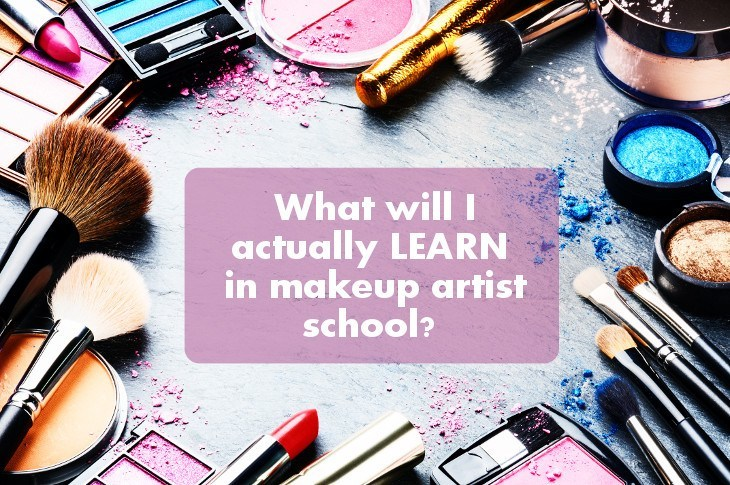 what will i learn in makeup artist school makeup artist essentials