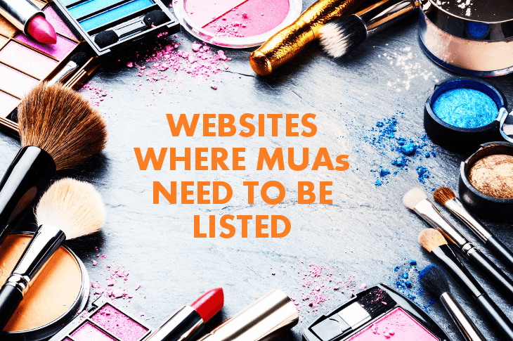 Websites Where MUAs Need To Be Listed